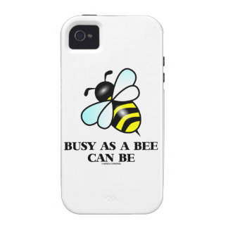 Busy As A Bee Can Be (Bee Drawing) Case-Mate iPhone 4 Cover