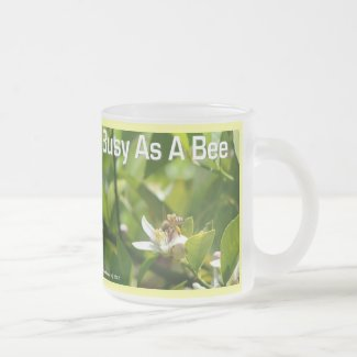 Busy as a Bee - Frosted Mug