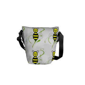 Busy As A Bee Honey Bee Courier Bag