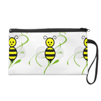 Busy As A Bee Honeybee Wristlet Purse