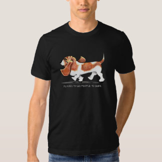 Busy Basset Hound Tshirt