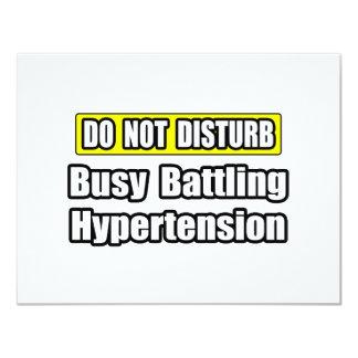 Busy Battling Hypertension Card