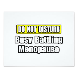 Busy Battling Menopause Card