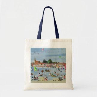 Busy Beach Tote Bag