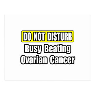 Busy Beating Ovarian Cancer Postcard
