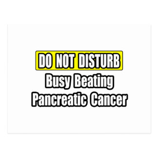 Busy Beating Pancreatic Cancer Postcard