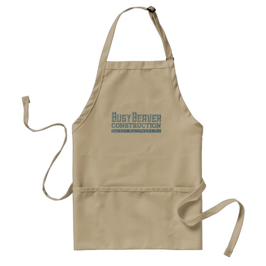 Busy Beaver Construction Adult Apron