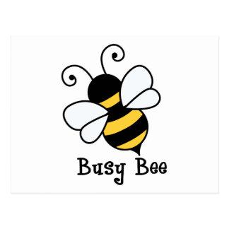 Busy bee2 postcard