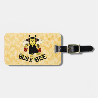 Busy Bee Bag Tag
