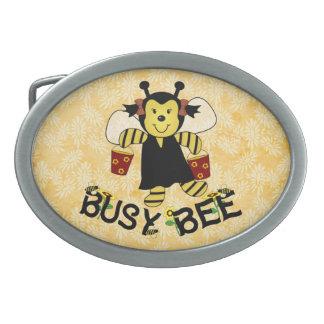Busy Bee Belt Buckle