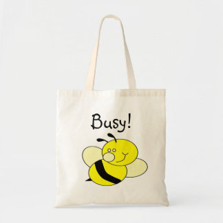 Busy Bee Budget Tote Bag