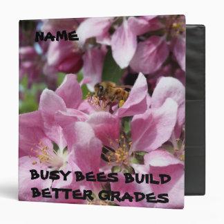 Busy Bee Building Bigger Grades Binder