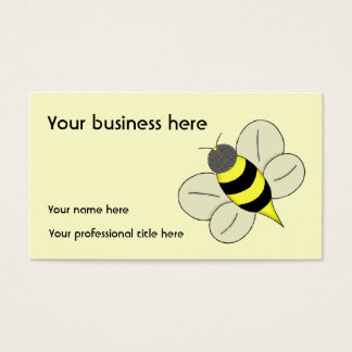 Busy bee business card