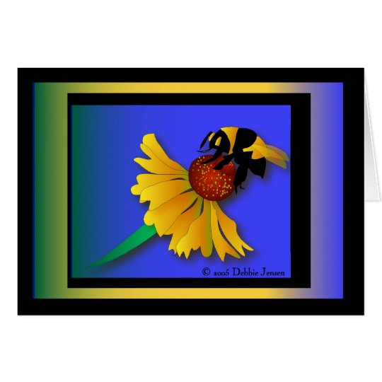 Busy Bee by Debbie Jensen Card