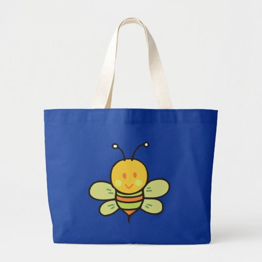 Busy Bee Canvas Bag