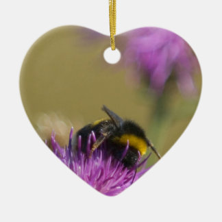 Busy Bee Ceramic Ornament