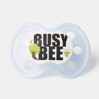"""""""Busy Bee"""" Cute Baby Pacifier"""