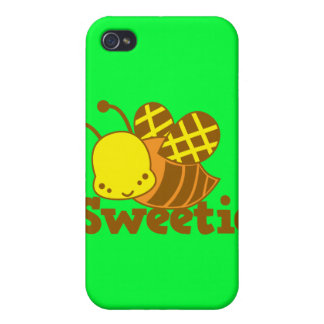 Busy Bee cute kawaii Case For iPhone 4