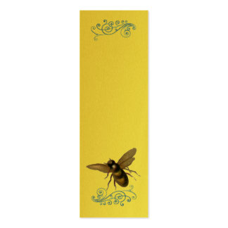 Busy Bee- Double-Sided Mini Business Cards (Pack Of 20)