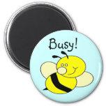 Busy Bee Fridge Magnet