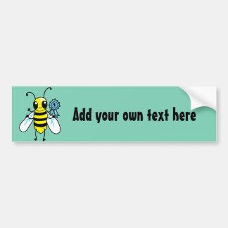 Busy Bee hard work Bumper Sticker