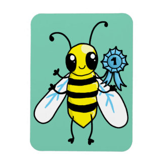 Busy Bee hard work Magnet