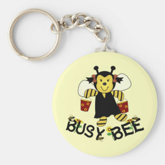 Busy Bee Keychain