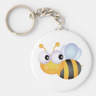Busy Bee Keychain