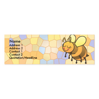 Busy Bee Kids Skinny Profile Cards Business Cards