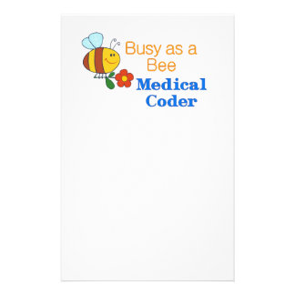 Busy Bee Medical Coder Flyer