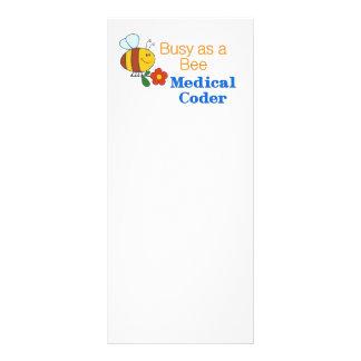 Busy Bee Medical Coder Rack Card