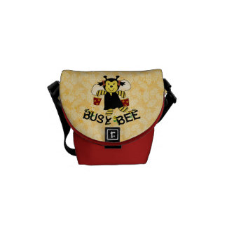 Busy Bee Messenger Bag