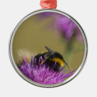 Busy Bee Metal Ornament