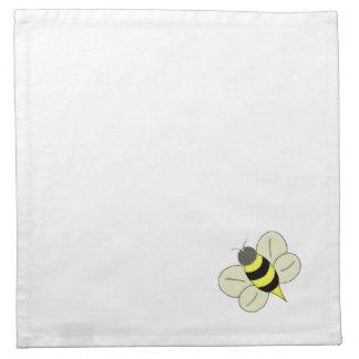 Busy bee cloth napkins