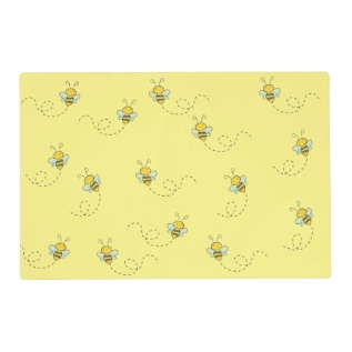 Busy Bee Placemat at Zazzle