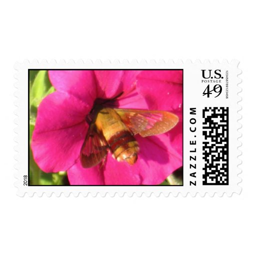 busy bee postage stamps