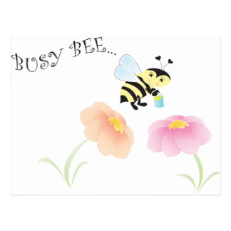 Busy Bee Postcards