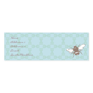 Busy Bee Profile Card