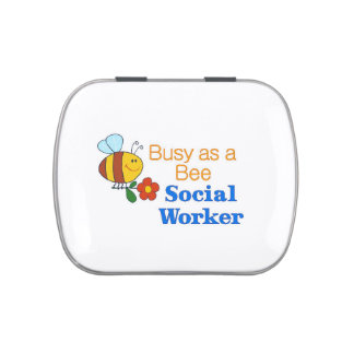 Busy Bee Social Worker Jelly Belly Tins