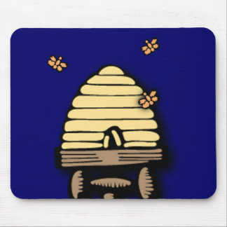 Busy Beehive Mouse Pad