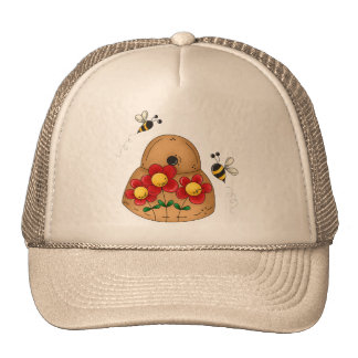Busy Beehive Trucker Hat
