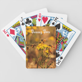 Busy Bees Bicycle Playing Cards