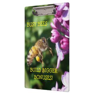 Busy Bees Build Bigger Bonuses Clipboard