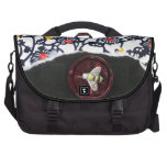 Busy Bees - collage Laptop Commuter Bag