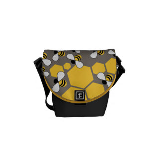 Busy Bees Courier Bag