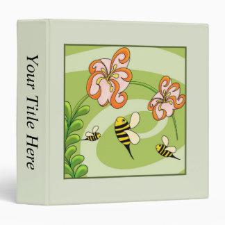 Busy Bees - Daytime 3 Ring Binder