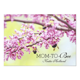Busy Bees Spring Bumble Bee, Cute Mom To Be Card