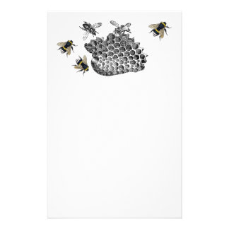 Busy Bees Stationery Design