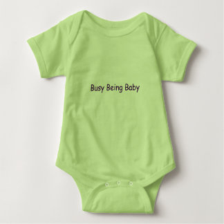 Busy Being Baby Baby Bodysuit