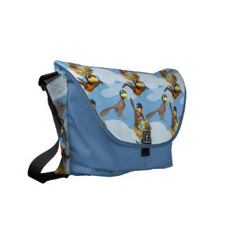 Busy Birds Courier Bag